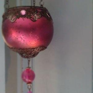 hanging candle lantern