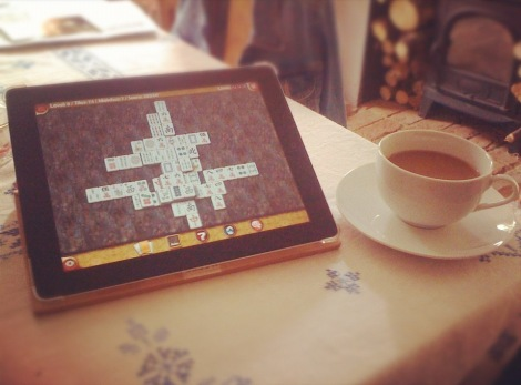 Coffee and Mahjong