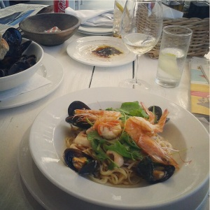 Seafood Pasta, Sirocco, Kalk Bay